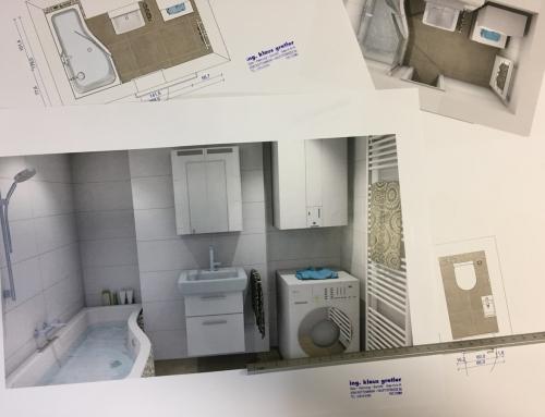 Badezimmerplanung