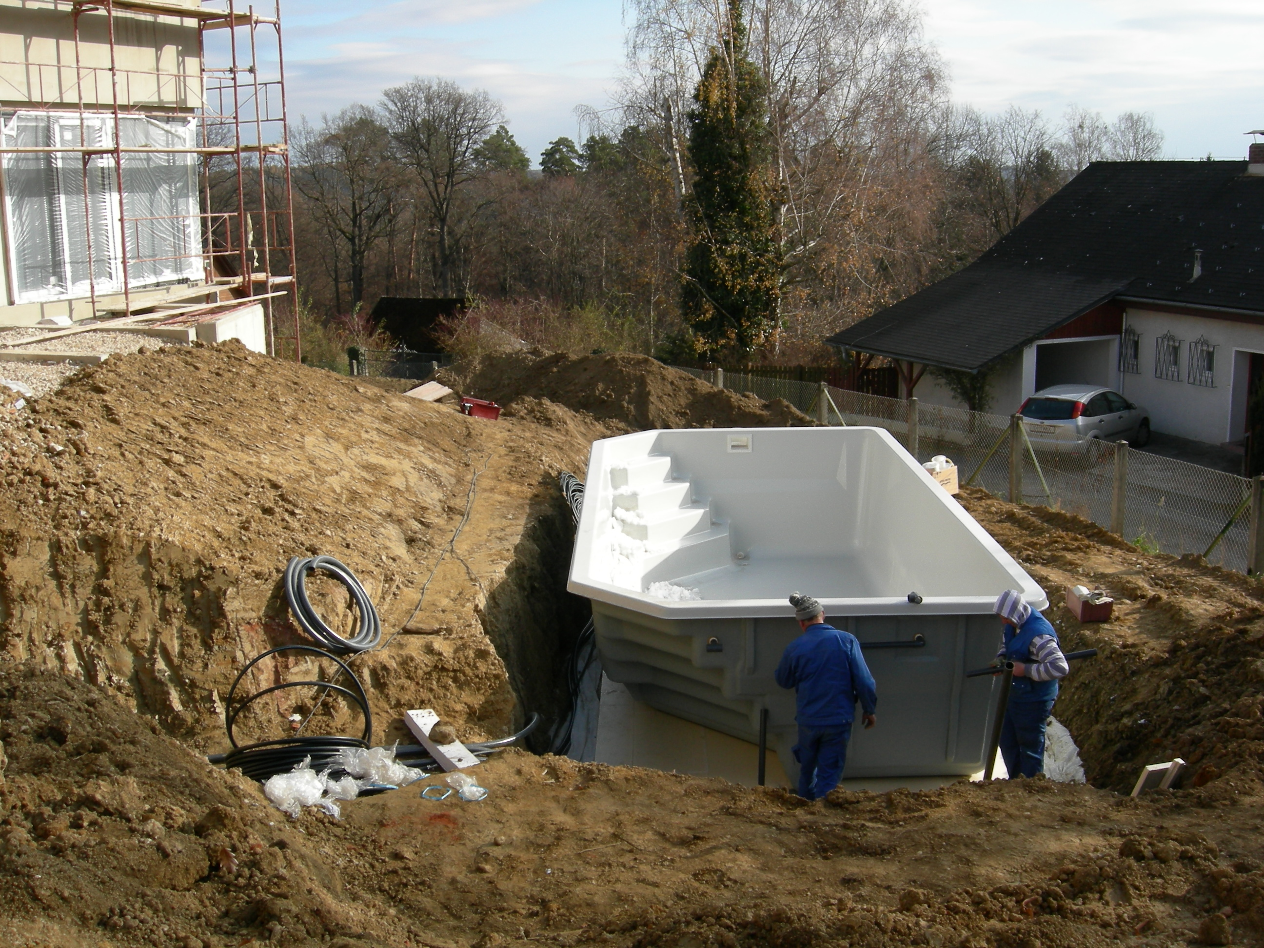 Pool inbetriebnahme ing klaus gretler for Schwimmbad becken
